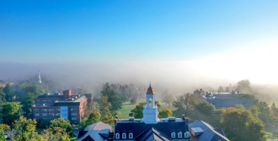drone over campus